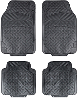 Комплект ковриков для авто Airline ACM-RM-02 (4шт, черный) -