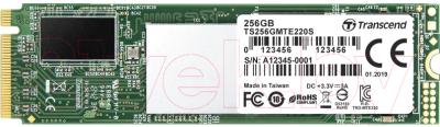 Фото - SSD диск Transcend 256GB MTE220S M.2 (TS256GMTE220S) накопитель ssd transcend 256gb ts256gmts400s