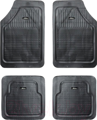 Комплект ковриков для авто Airline ACM-RM-01 (4шт, черный)
