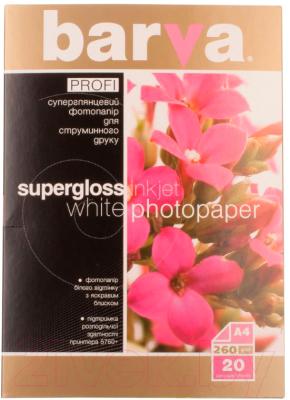 Бумага Barva Profi IP-R260-177 (белый суперглянец)