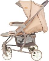 Детская прогулочная коляска Lorelli S300 Beige Brown Lines / 10020841940 -