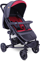 Детская прогулочная коляска Lorelli S300 Black Red / 10020841958 -