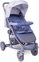 Детская прогулочная коляска Lorelli S300 Grey Rhombs / 10020841960 -