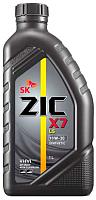 Моторное масло ZIC X7 LS 10W30 / 132649 (1л) -