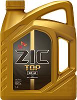 Моторное масло ZIC Top 0W40 / 162611 (4л) -
