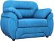 Кресло мягкое Лига Диванов Бруклин 149 / 60763 (велюр, голубой) -