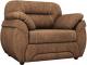 Кресло мягкое Лига Диванов Бруклин 149 / 60764 (велюр, коричневый) -