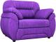 Кресло мягкое Лига Диванов Бруклин 149 / 60765 (велюр, фиолетовый) -