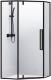 Душевой уголок RGW SV-81-B / 32328199-14 (прозрачное стекло/черный) -