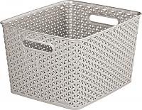 Корзина Curver My Style Box L 03612-885-00 / 196861 (кремовый) -
