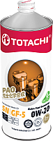 Моторное масло Totachi Extra Fuel 0W20 SN GF-5 / 4562374690615 (1л) -