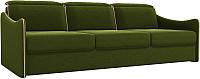 Диван Лига Диванов Скарлетт 164 / 61152 (вельвет, зеленый) -
