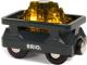 Элемент железной дороги Brio Вагончик с светящимся грузом золота / 33896 -