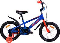 Детский велосипед AIST Pluto 2019 (16, синий) -