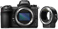 Беззеркальный фотоаппарат Nikon Z6 + переходник FTZ Kit -