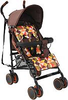 Детская прогулочная коляска Bambola Pallino / НР-313 (кофейный) -