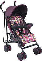 Детская прогулочная коляска Bambola Pallino / НР-313 (сливовый) -