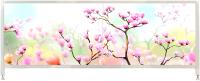 Экран для ванны Oda Арт 170x50 / А170СК1 (сакура-1) -