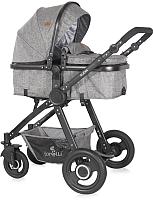 Детская универсальная коляска Lorelli Alexa 3 в 1 Dark Grey / 10021291900 -