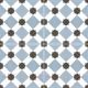 Декоративная плитка Dual Gres PAV-Howard Blue (450x450) -