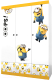 Шкаф Polini Kids Fun 1360 Миньоны (желтый) -