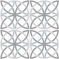 Декоративная плитка Dual Gres PAV-Bosham White (450x450) -