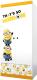 Шкаф Polini Kids Fun 890 Миньоны (желтый) -