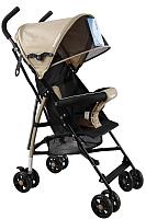 Детская прогулочная коляска INDIGO Bono (бежевый) -