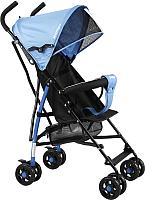 Детская прогулочная коляска INDIGO Bono (синий) -