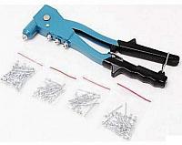 Ручной заклепочник Partner PA-01J0089 с набором заклепок -