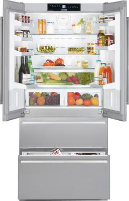 Холодильник с морозильником Liebherr CBNes 6256 - вид спереди