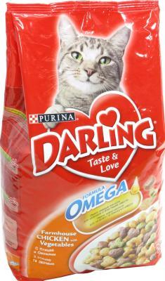 Корм для кошек Darling С мясом птицы и овощами (2кг) - общий вид