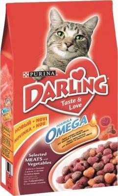 Корм для кошек Darling С мясом и овощами
