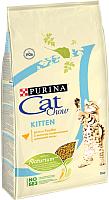 Корм для кошек Cat Chow Kitten With Chicken полнорационный с курицей (15кг) -
