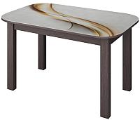 Обеденный стол Senira P-02.06-01/01-7225 (венге) -