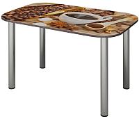 Обеденный стол Senira P-001/01-7187 (хром) -