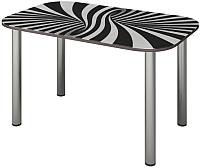 Обеденный стол Senira P-001/01-7195 (хром) -