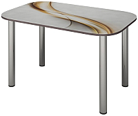 Обеденный стол Senira P-001/01-7225 (хром) -