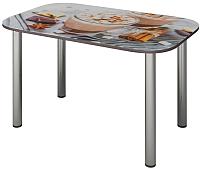 Обеденный стол Senira P-001/01-7817 (хром) -