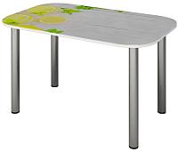 Обеденный стол Senira P-001/01-7265 (хром) -