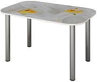 Обеденный стол Senira P-001/01-7194 (хром) -