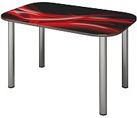 Обеденный стол Senira P-001-02/01-7212 (хром) -