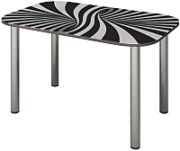 Обеденный стол Senira P-001-01/01-7195 (хром) -