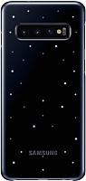Чехол-книжка Samsung LED Cover S10 / EF-KG973CBEGRU (черный) -