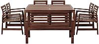 Комплект садовой мебели Ikea Эпларо 792.898.14 -