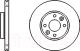 Тормозной диск Bosch 0986479103 -