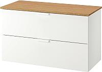Шкаф для ванной Ikea Годморгон/Толкен 592.955.33 -