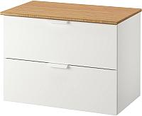 Шкаф для ванной Ikea Годморгон/Толкен 692.954.91 -