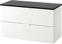 Шкаф для ванной Ikea Годморгон/Толкен 392.955.29 -