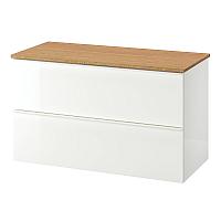 Шкаф для ванной Ikea Годморгон/Толкен 092.955.02 -